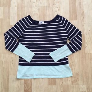 Old Navy XS Petite Striped Sweater